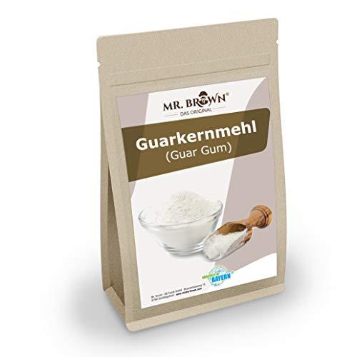 Mr. Brown Guarkernmehl / Guar Gum 250 g   vegan   Mehl   Verdickungsmittel   Bindemittel   Backzutat   abgefüllt in Bayern