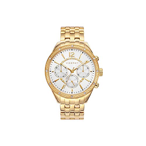 Reloj Viceroy Mujer 471070-15 Multifunción Dorado