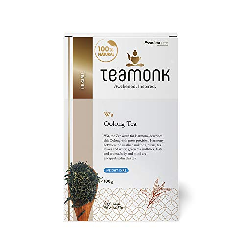 Teamonk Nilgiri Oolong Tea, | Loose Leaf Tea | Wa Oolong Tea...