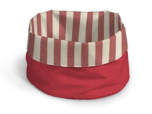 Dekoria Behälter 25 × 18 cm rot-Ecru
