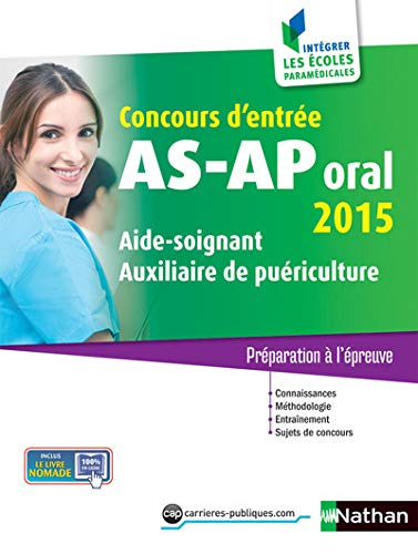 Concours AS-AP oral 2015