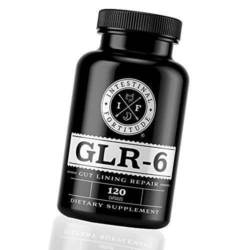 Intestinal Fortitude GLR-6 - Gut Lining Repair Supplement - Leaky Gut - IBD - IBS - Marshmallow Root - Slippery Elm - L Glutamine - DGL Licorice Root - Fenugreek - N Acetyl D Glucosamine - Gut Health