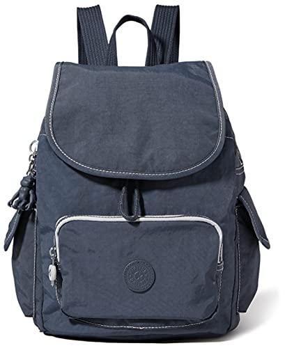 Kipling Damen City Pack S Rucksack Handtasche, Grauer Schiefer, One Size