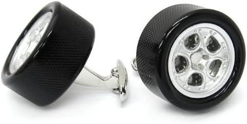 Tailor B 3D Working Steeling latest Cufflinks Wheel Cuff Mail order Car Automotive