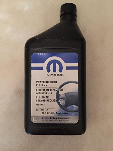 MOPAR Power Steering Fluid + 4ovu0151668218064AA 5103524ea