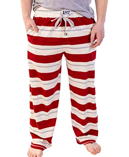 Lazy One Family Pajama Sets, Matching Pajamas for Babies, Kids, Teens, and Adults (Country Stripes, X-Small)
