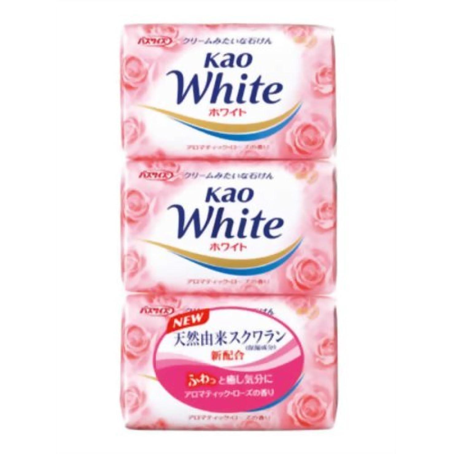 提唱する戻る受ける花王ホワイト アロマティックローズの香り バスサイズ 130g*3個入