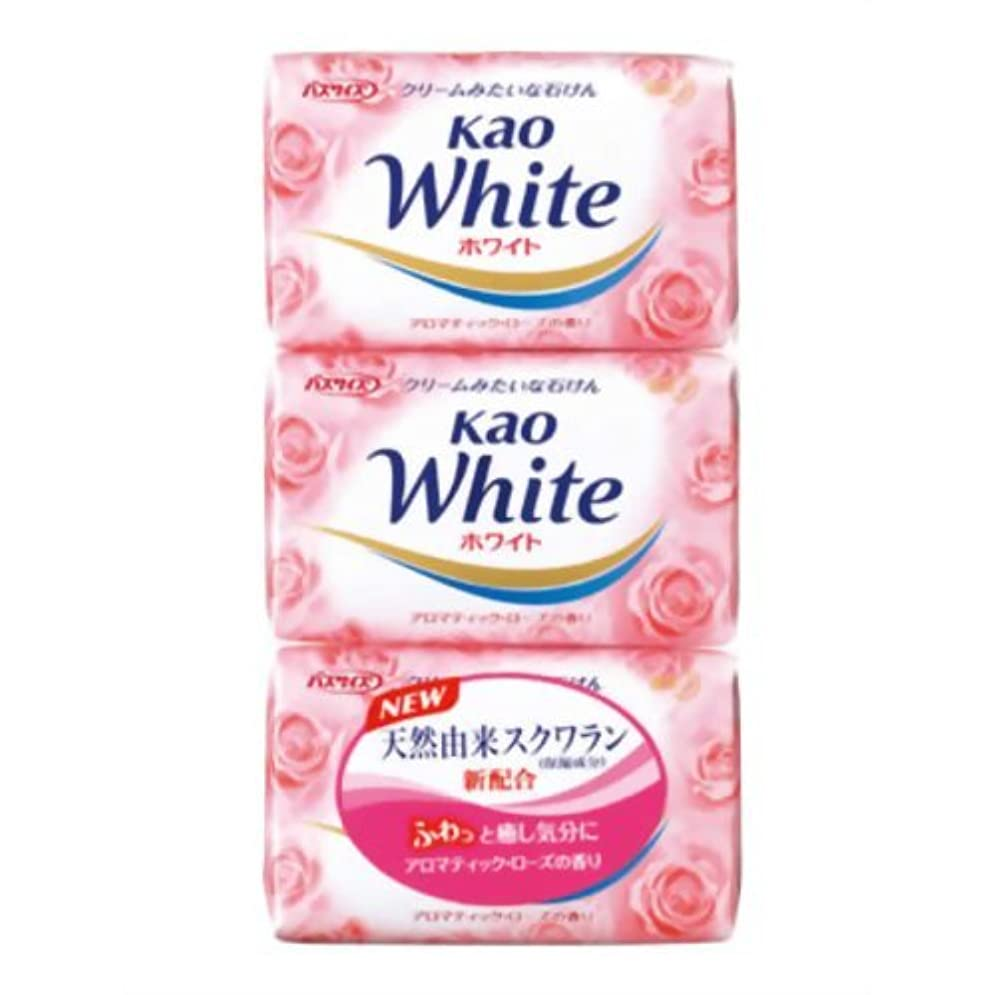 花王ホワイト アロマティックローズの香り バスサイズ 130g*3個入