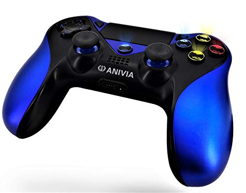 Anivia A214E New Switch PS4 Controller, Joypad PS4 Console, Gamepad with Six Axies