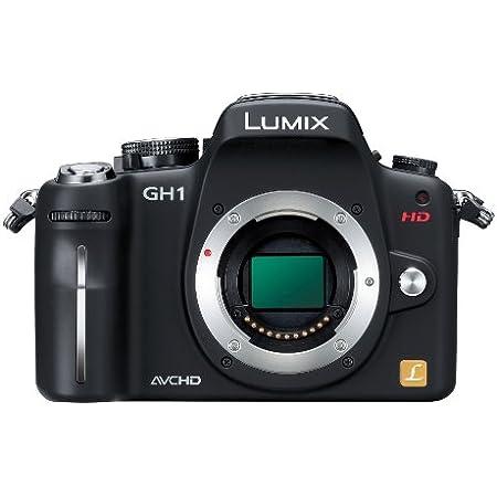 パナソニック デジタル一眼カメラ GH1 ボディ コンフォートブラック DMC-GH1-K