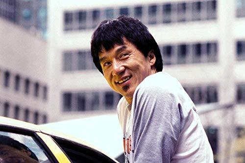 YHNM Puzzle de 1000 Piezas para Obra de Arte de Juego de Rompecabezas para Adultos/Póster de Jackie Chan/para Regalos de niños y Adultos(75x50cm)