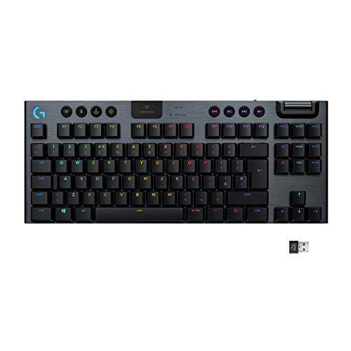 Logitech G915 TKL Tenkeyless LIGHTSPEED Wireless RGB...