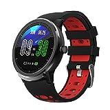 BingoFit Smartwatch Uhr, 1,3 Zoll Voller Touchscreen Fitness Armbanduhr mit Herzfrequenzmessung...