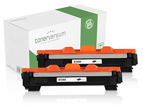 Inktpatronen compatibel met Brother TN-1050 zwart voor DCP-1510 HL-1110 DCP-1612w HL-1210w DCP-1512 DCP-1610w MFC-1810 HL-1212w HL-1112 laserprinter