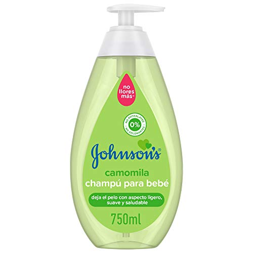 Johnson's Baby Chamomile Shampoo, ideal for the whole family, 750 ml