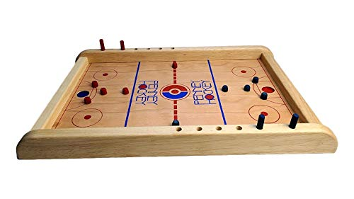 A penny hockey game is great for gift ideas for teens who like sports.