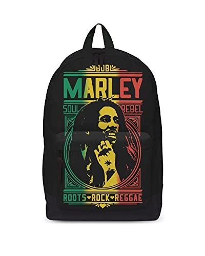 Desconocido Bob Marley Roots Rock - Mochila clásica (vinilo)