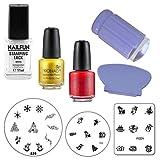Stamping Set Weihnachten mit Clear Jelly Stamper
