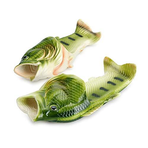 MMGC Ciabatte da Pesce Infradito a Forma di Pesce Scarpe da Spiaggia per Uomo e Donna da Esterno Pantofole da Pesce con Stelle di Marea