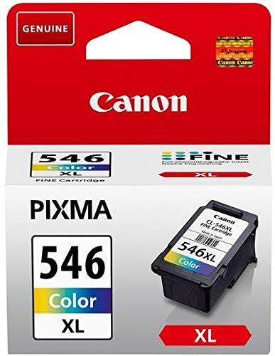 Canon 8288B001, CL-546XL - Cartucho de tinta para impresora, color cian, amarillo y magenta