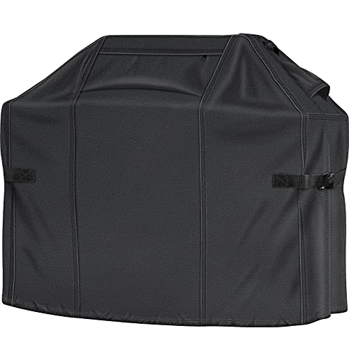 BBQ Grill Cover, 58-inch Gas Grill Covers, 100% Waterproof Heavy Duty 700D BBQ Covers, Premium Barbecue Covers for Weber Char-Broil Nexgrill Brinkmann...