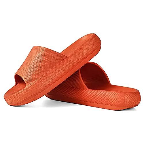 Calzado universal de baño de secado rápido y antideslizante sandalias de suela gruesa para la casa de verano playa sandalia zapatilla, 02., 42 EU