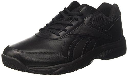 Reebok Work N Cushion 2.0, Zapatillas de Nordic Walking para Hombre, Negro (Black/Black), 40.5 EU