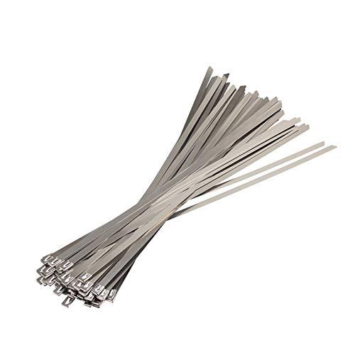 TL TONGLING Cable Lazo Zip De Acero Inoxidable de Metal 10PCS 304Material...