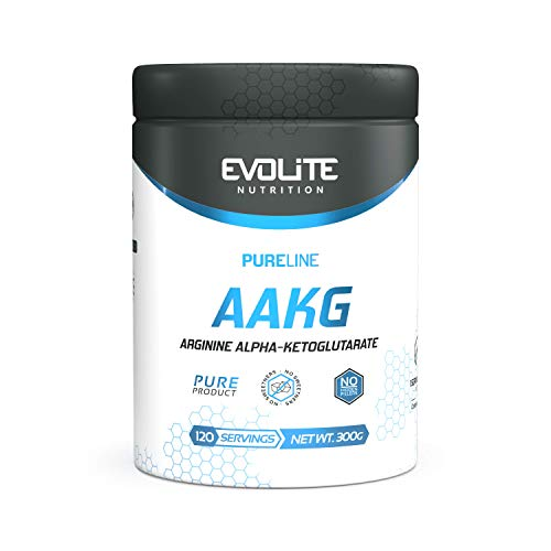 Evolite Pure Line AAKG 300g bomba de testosterona músculos libido resistencia