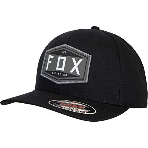 Fox Gorra con emblema Flexfit. negro L XL