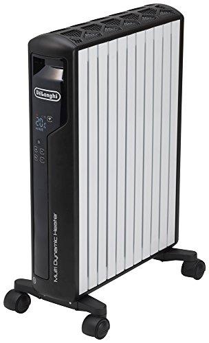 デロンギ(DeLonghi)  マルチダイナミックヒーター Wi-Fiモデル+マットブラック [10~13畳用] Wi-FiモデルiPh...