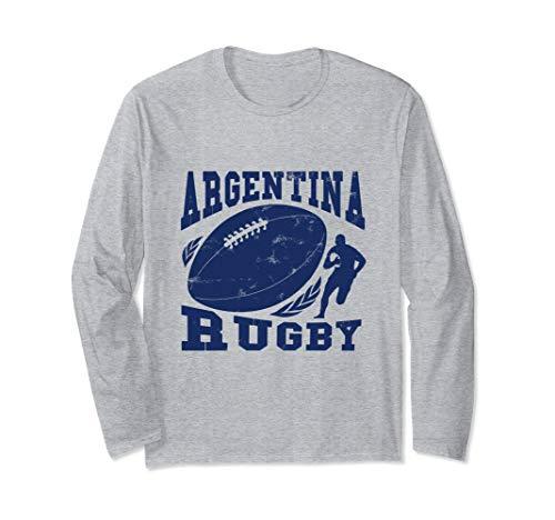 Argentina Rugby Fan Langarmshirt