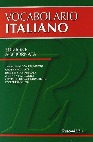 Il vocabolario di italiano