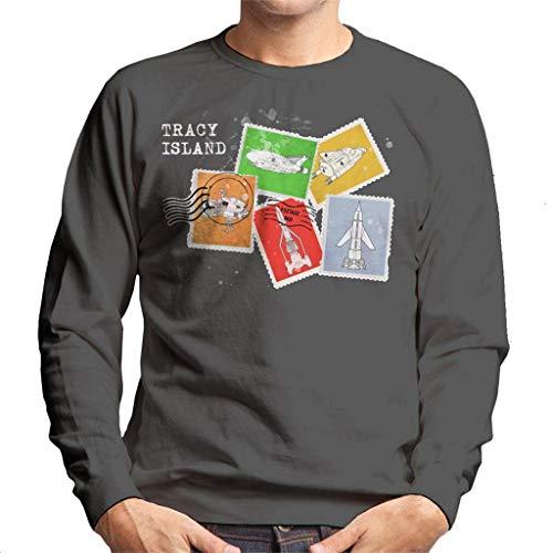 Thunderbirds Vehicle Stamps sweatshirt voor heren