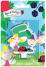 Ben & Holly's Little Kingdom Candle On A Cake Topper 5 Years Must Have Accessories For The Party Supplies And Birthday
