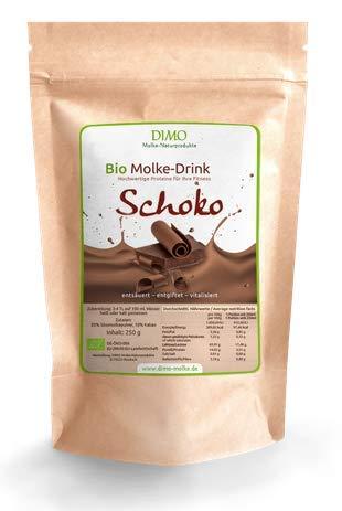 BIO Molke Drink Schoko- 250 g - BIO Trinkmolke Schoko