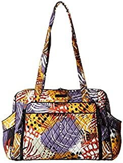 Vera Bradley Women's Stroll Around Baby Bag Painted Feathers One Size