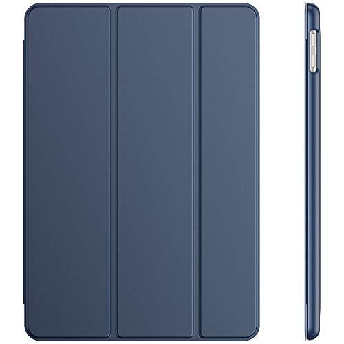JETech Funda Compatible con iPad 8/7 (10,2 Pulgadas, 2020/2019 Modelo, 8.ª/ 7.ª Generación), Carcasa con Auto-Sueño/Estela (Azul Marino)