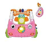 YZT QUEEN Lauflernhilfe Auto, interaktiver DREI-in-einem-Baby-Walker, Sound und Beleuchtung, perfekt...