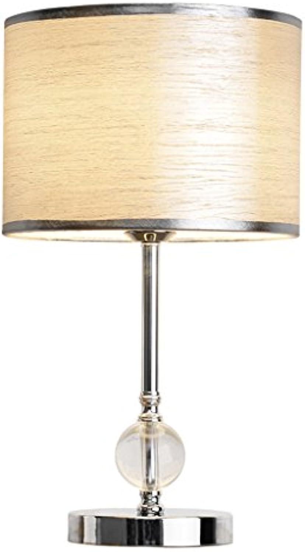 Crystal Tischlampe Schlafzimmer Nachttisch Lampe Einfache Moderne Europische Stil Kreatives Wohnzimmer Deluxe Hotel Restaurant Raum Dekoration Tischlampe (Silber)