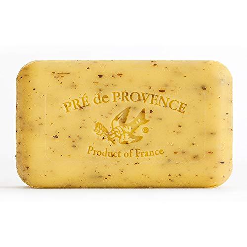 Pre de Provence Artisanal French Soap Bar Enriched with Shea Butter, Lemongrass, 150 Gram