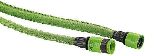 Royal Gardineer Flexischlauch: Dehnbarer Gartenschlauch PRO.V2, 7 bis 20 m (Gartenschlauch Ziehharmonika)
