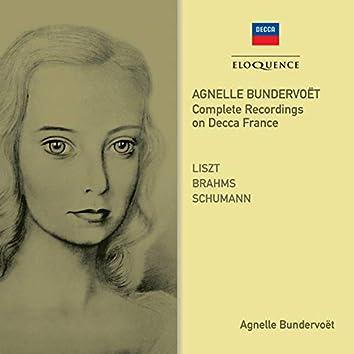 Agnelle Bundervoet - Complete Recordings On Decca France