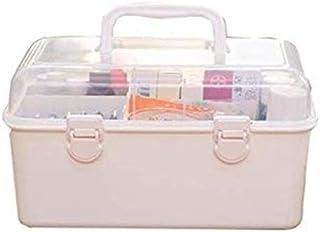 AINIYF Multi-Layer First Aid Kit Multi-Function Medical Box Medicine Storage Box Cosmetic Storage Box Medicine Box (Color : White)