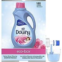 Downy April Fresh Liquid Fabric Conditioner eco-Box, 105 fl oz