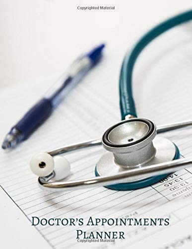"""Doctor's Appointments Planner: Patients Appointment Logbook, Track and Record Clients/Patients Attendance Bookings, Daily Weekly Monthly, Gifts for ... x 11"""", 110 (Clinical Patients Log, Band 18)"""