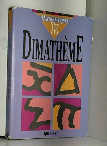 Dimathème. Terminale ES, édition 1994
