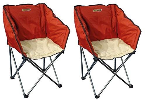 Quest Autograph Kent chair in paprika and cream X2 Chairs