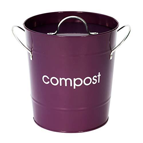 Lowest Prices! Premier Housewares Compost Bin - Purple