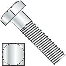 400 pcs Steel 5//16-18 X 4 Square Head Plain Machine Bolts